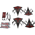 Decals for 50-125 ATV