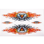 NEW FLAME EAGLE DECAL BADGE STICKER for CHOPPER CRUISER MOTORCYCLE HARLEY