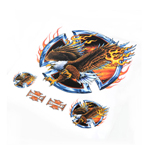 Flame Eagle Sticker/Decal Set For Motorcycle Motorbike