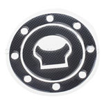 Carbon Fiber Fuel Tank Gas Cap Cover Pad Decal Stickers For SUZUKI